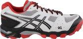 Asics Sportschoenen - Maat 44.5 - Mannen - wit/zwart/rood
