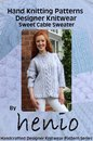 Hand Knitting Pattern: Designer Knitwear: Sweet Cable Sweater