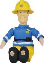 Brandweerman Sam - Sam en vrienden knuffel - 25cm