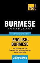 Burmese Vocabulary for English Speakers - 3000 Words