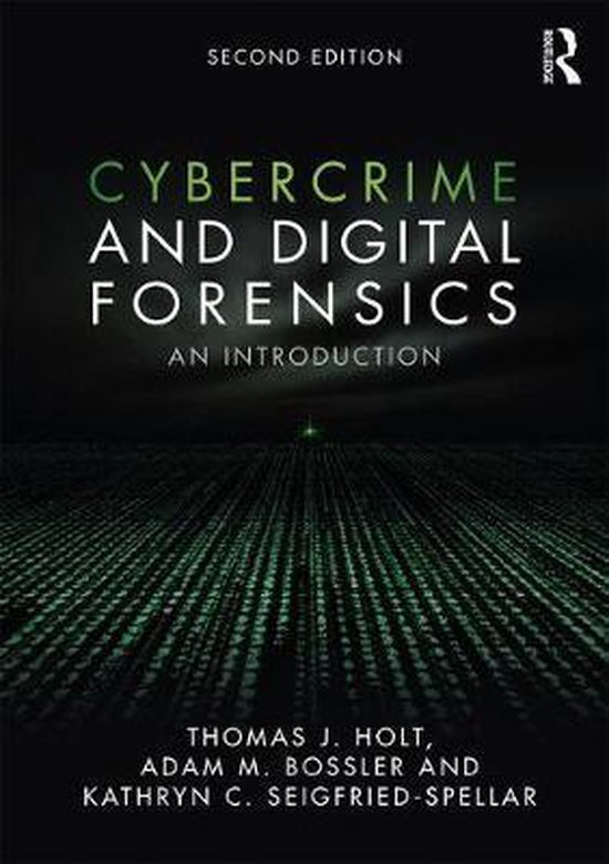 Boek cover Cybercrime and Digital Forensics van Thomas J. Holt (Paperback)