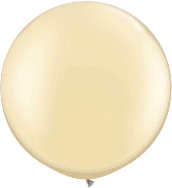 Megaballon Pearl Ivoor 95 cm 1 stuks