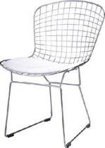 DS4U draadstoel - metalen stoel - Wit/Chroom