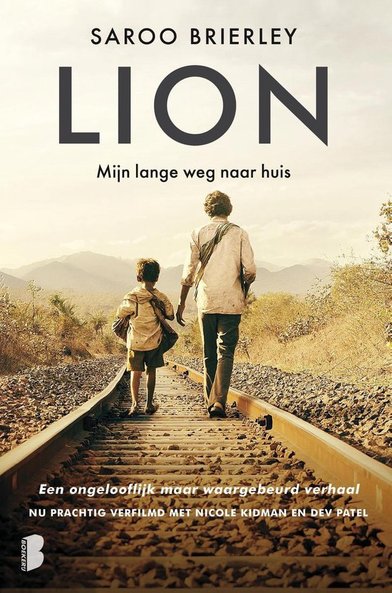 Boek cover Lion van Saroo Brierley (Onbekend)