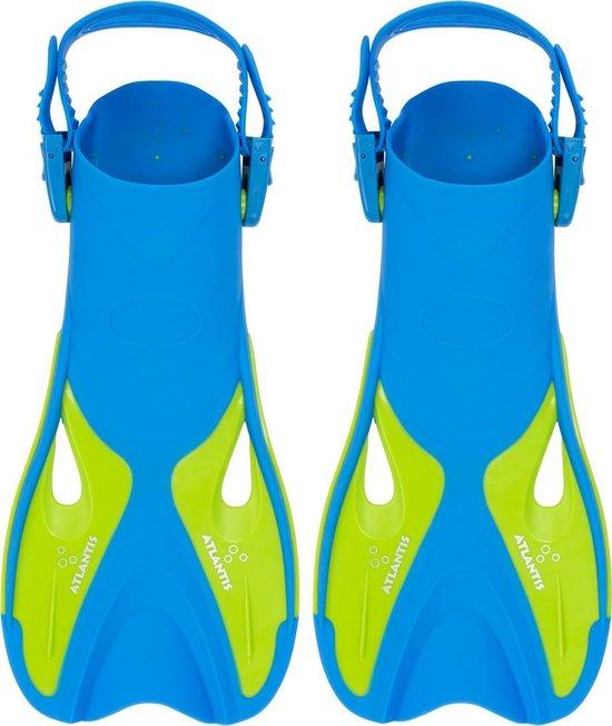 Atlantis Snorkelvin - Zwemvliezen - 30-36 - Blauw/Groen