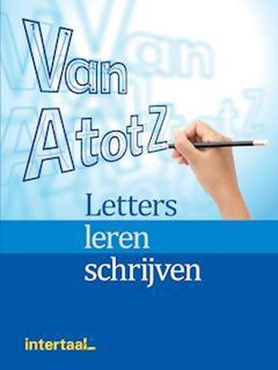 Van A tot Z Letters leren schrijven werkboek - Feldmeier |