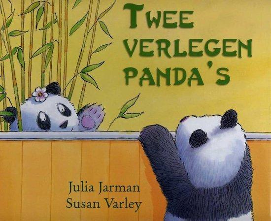 Boek cover Twee verlegen pandas van Julia Jarman (Hardcover)