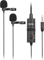 Boya BY-M1DM dual lapel mic for smartphones & DSLR's