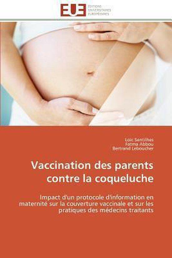 Vaccination Des Parents Contre La Coqueluche