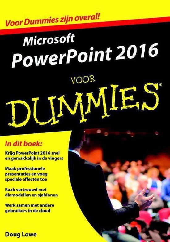 Microsoft Powerpoint 2016 voor Dummies - Doug Lowe   Fthsonline.com