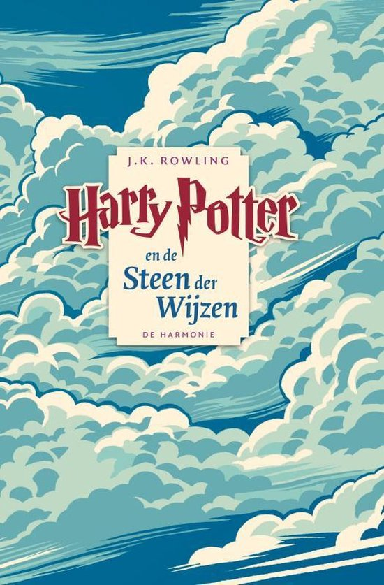 Boek cover Harry Potter 1 -   Harry Potter en de steen der wijzen van J.K. Rowling (Paperback)