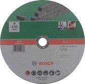 Bosch slijpschijf - Voor steen - 230 x 3 mm - recht