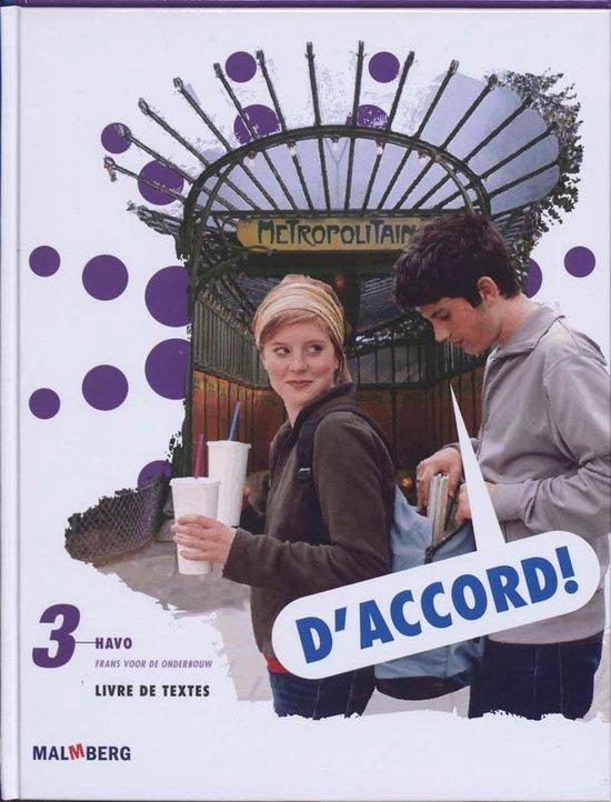 D'accord! 3 hv tekstboek - L. E#Bbinge-Planchon |