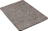 Droogloopmat / Droogloopmat Aquastop / 50 cm x 80 cm / graniet / ronde hoeken