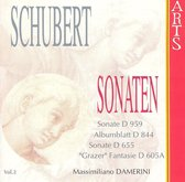 Schubert: Sonaten Vol 2 / Massimiliano Damerini