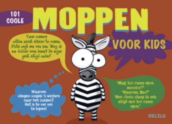 Cover van het boek '101 coole moppen voor kids' van Jef de Jager