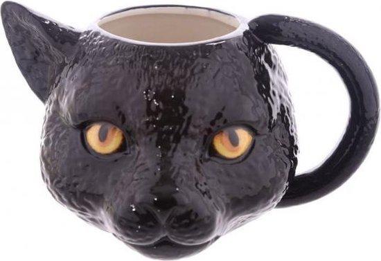 Koffie mok zwarte kat