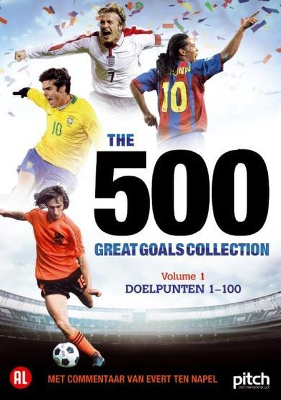 Cover van de film '500 Great Goals Vol.1'