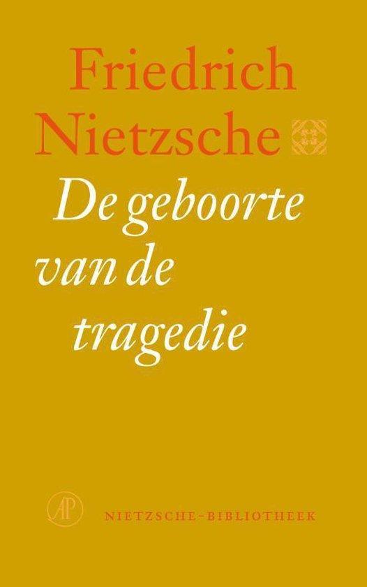 Boek cover Nietzsche-bibliotheek  -   De geboorte van de tragedie van Friedrich Nietzsche