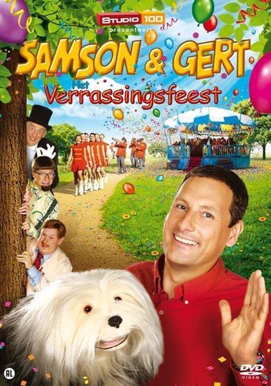 Cover van de film 'Samson & Gert - Het Verrassingsfeest'