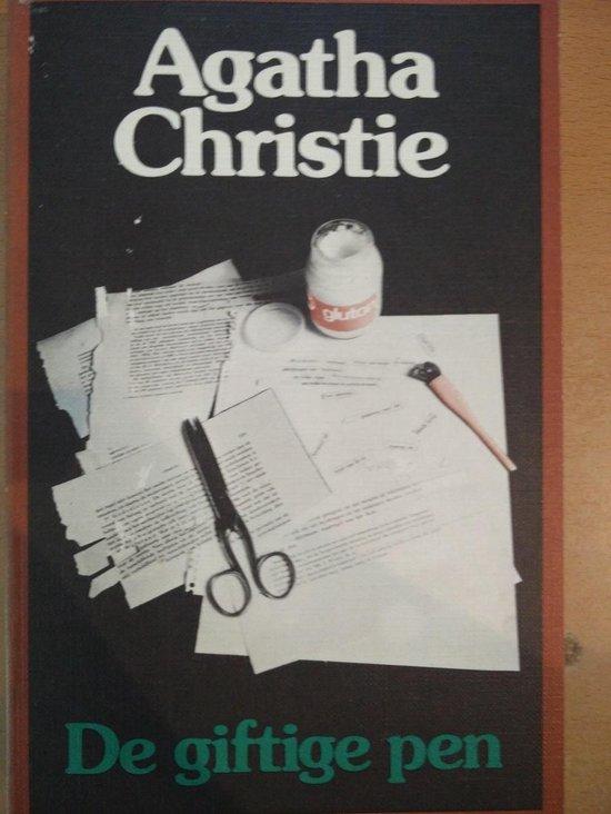 Giftige pen - Agatha Christie |