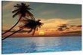 Art4-all - Canvas Schilderij Hawaii - 80x60cm