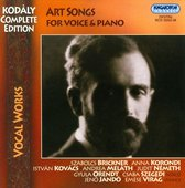Art Songs For Voice & Piano