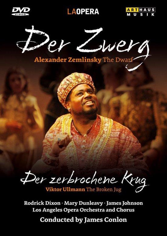 Cover van de film 'Alexander von Zemlinsky/Viktor Ullmann - Der Zwerg/Der Zerbrochene Krug'