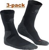 Wolf Camper Moccasin zomersok 3-pack 37-39