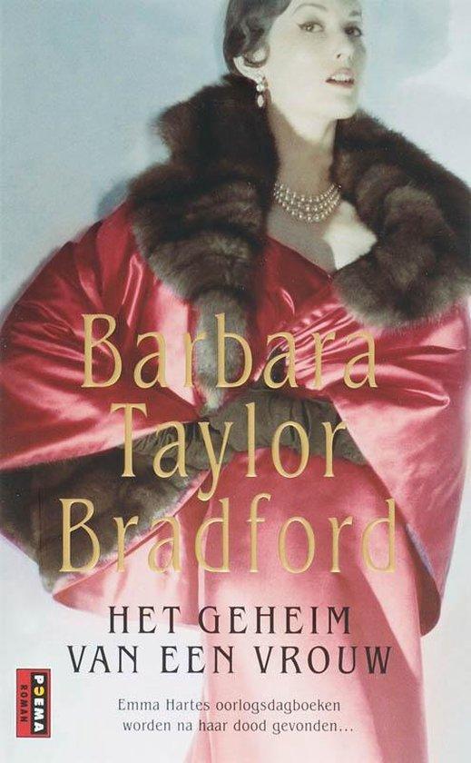 Cover van het boek 'Harte / 4 Geheim van een vrouw' van Barbara Taylor Bradford en B. Taylor Bradford