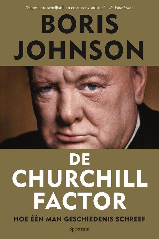 Boek cover De churchill factor van Boris Johnson (Hardcover)
