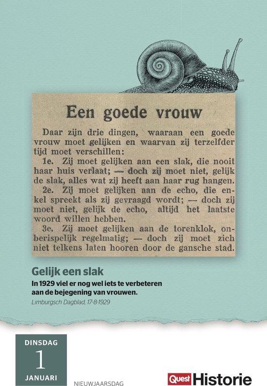 Quest Historie Scheurkalender 2019 - (Red.)