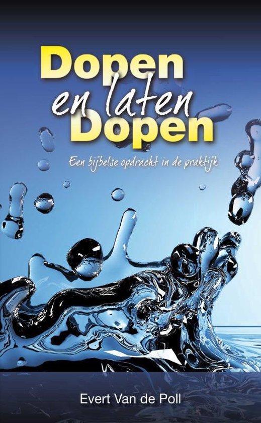 Dopen en laten dopen - E.W. van der Poll pdf epub