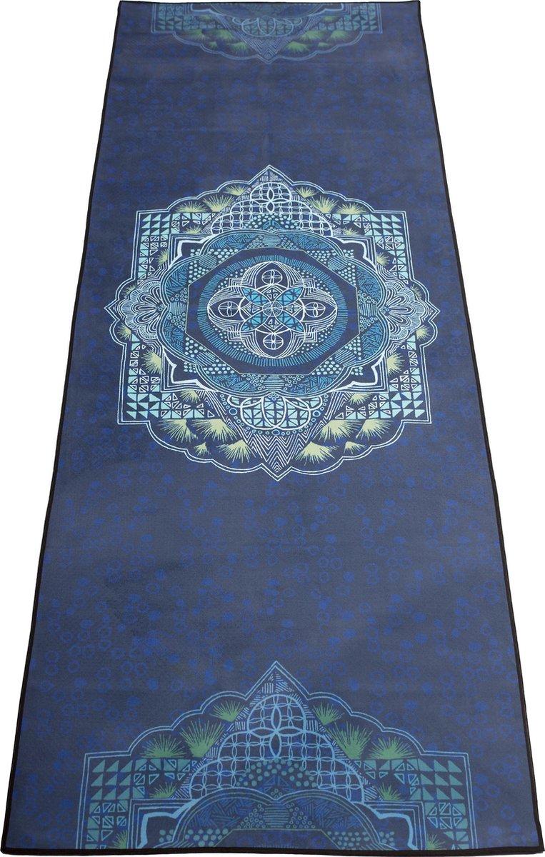 JAP Sports Yoga handdoek - Anti slip sport matje - Bescherming voor de yoga mat - Inclusief opbergta