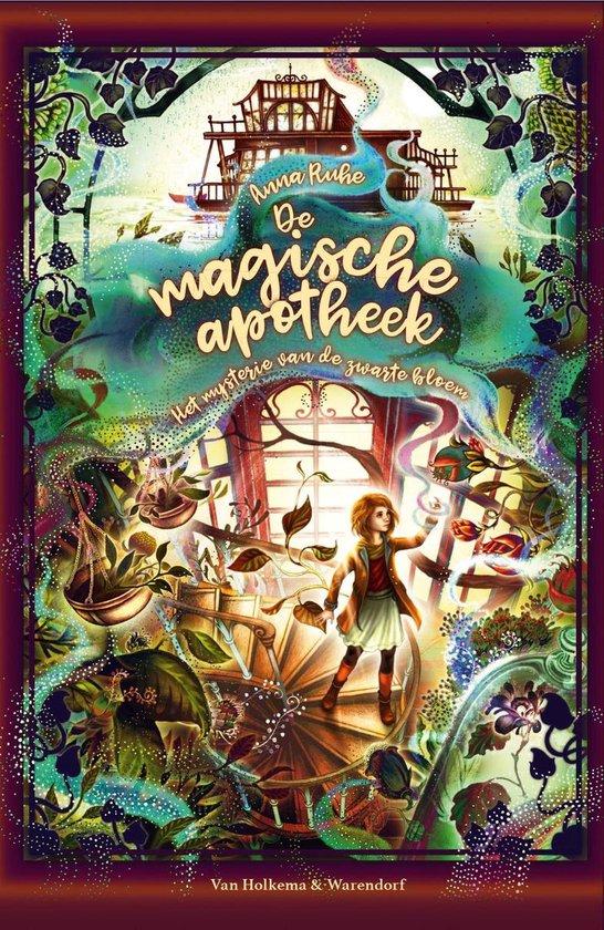 Boek cover De magische apotheek 2 - Het mysterie van de zwarte bloem van Anna Ruhe (Onbekend)
