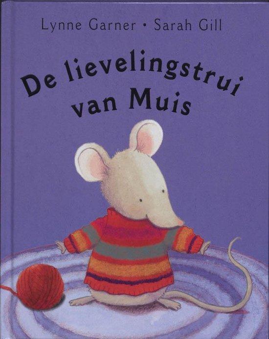 Cover van het boek 'De lievelingstrui van Muis' van L. Garner