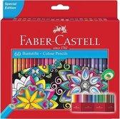 Kleurpotlood Faber-Castell Castle zeskantig karton etui met 60 stuks (FC-111260)
