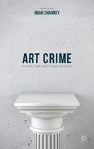 Boek cover Art Crime van