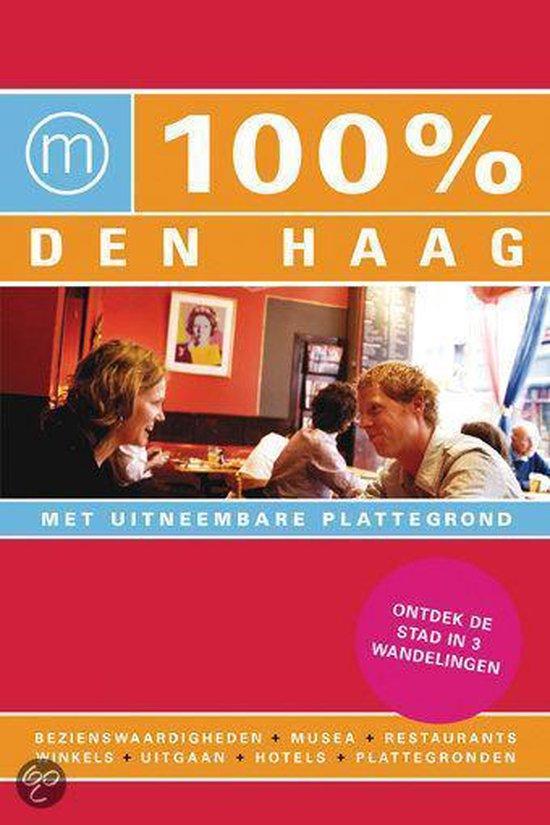Cover van het boek '100% Den Haag + gratis 100% Antwerpen'