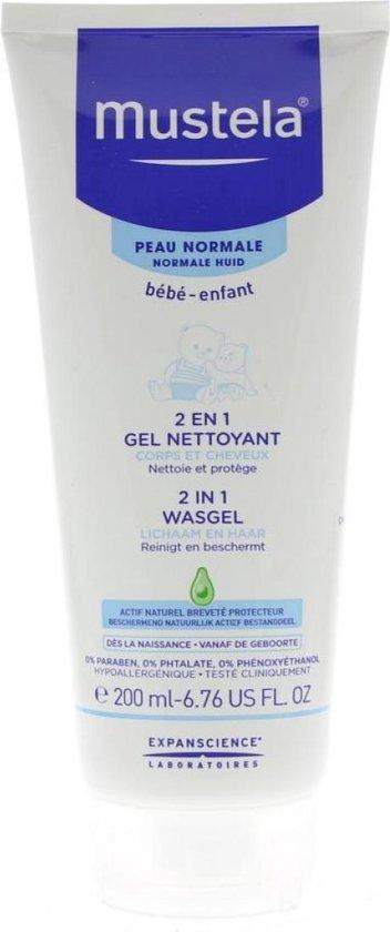 Mustela 2 in 1 Wasgel - 200 ml