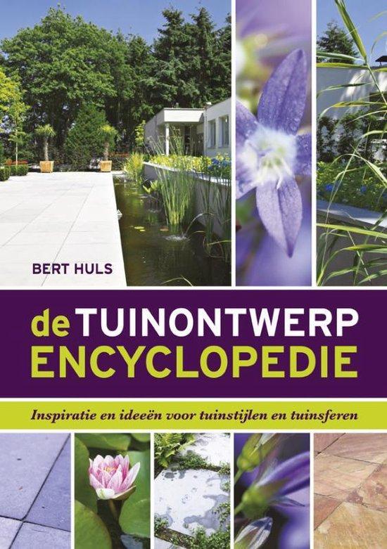 Boek cover De tuinontwerp encyclopedie van Bert Huls (Hardcover)