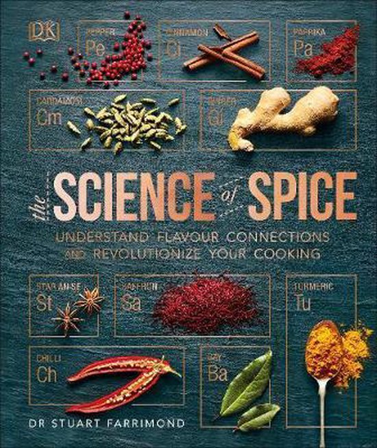 Boek cover The Science of Spice van Dr. Stuart Farrimond (Hardcover)