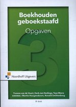 Boek cover Boekhouden geboekstaafd 3 OB van Yvonne van de Voort (Paperback)