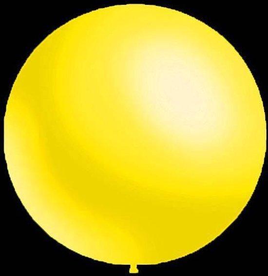 10 stuks - Decoratieve ballonnen - 30 cm - metallic geel professionele kwaliteit