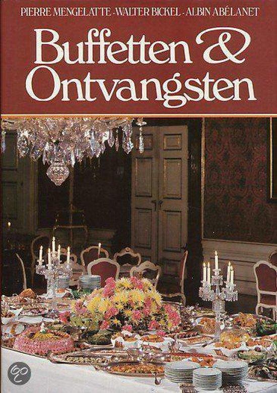 Boek cover Buffetten en ontvangsten van Mengelatte (Hardcover)