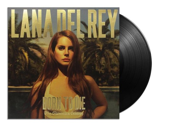 CD cover van Born To Die - The Paradise Edition (LP) van Lana Del Rey