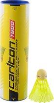 Carlton T800 - Badmintonshuttle - 6 stuks- geel