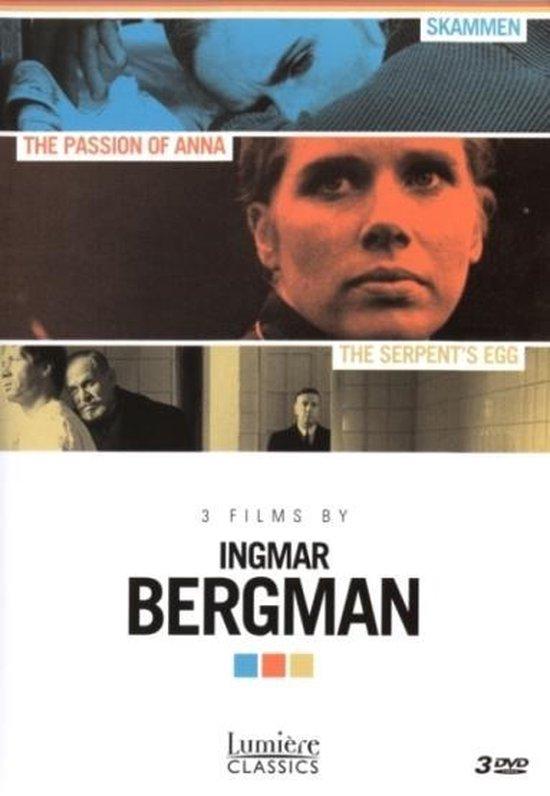Cover van de film 'Ingmar Bergman Box'