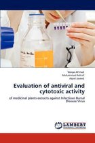 Evaluation of Antiviral and Cytotoxic Activity