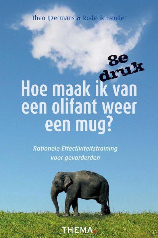 Boek cover Hoe maak ik van een olifant weer een mug? van Theo IJzermans (Paperback)